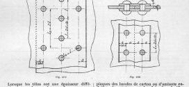 396-397. Rivures de solidité et d'étanchéité. Rivures de simple étanchéité.