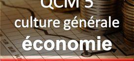 QCM Sciences économiques (suite)