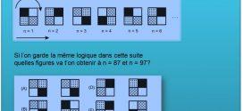 Raisonnement Spatial et mathématique – rotation des carées