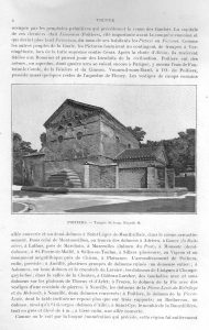 POITIERS TEMPLE ST JEAN 1903