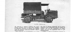 Mécanique automobile. Voitures avant 1920