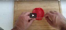 Fabriquer une bougie avec de la cire de babybel