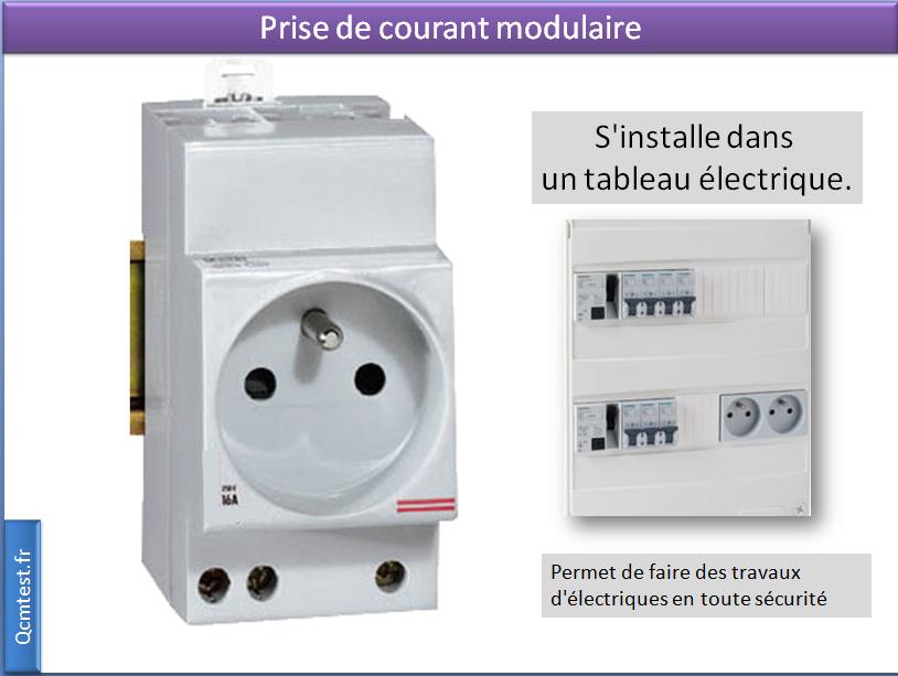 prises de courant modulaire