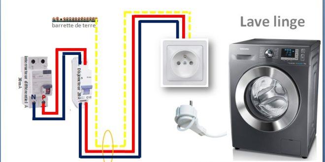 sch ma lectrique des circuits sp cialis s la prise 20a lave vaisselle lave linge s che linge. Black Bedroom Furniture Sets. Home Design Ideas
